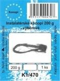 Instalatérské konopí balené - velmi jemné - 200 g - K1/470