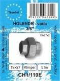 """SADA - těsnění ploché - bezazbest - holendr 3/8"""" - 19 x 27 x 2 mm - CH1/119E"""