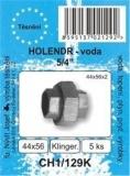 """SADA - těsnění ploché - bezazbest - holendr 5/4"""" - 44 x 56 x 2 mm - CH1/129K"""