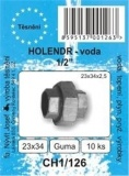 """SADA - těsnění ploché - guma - holendr 3/8"""" - 1/2""""- 23 x 34 x 2 mm - CH1/126"""