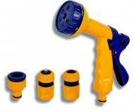 NOVASERVIS DY2323 Pistole se 6-funkcemi a sadou, plast