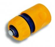 """NOVASERVIS DY8011 Rychlospojka se stop ventilem 1/2"""" plast"""