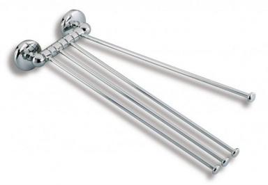 NOVASERVISČtyřramenný držák ručníků Metalia 1 chrom