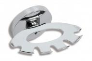 NOVASERVIS 6173,0 Držák kartáčků a pasty Metalia 1 chrom