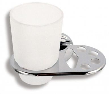 NOVASERVIS 6149,0 Držák kartáčků a skleničky Metalia 1 chrom