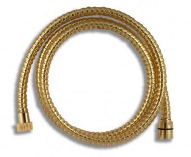 NOVASERVIS SPIRAL/150,ZL Sprchová hadice plastová 150 cm zlato
