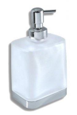 NOVASERVIS Metalia 4 Dávkovač mýdla sklo, chrom