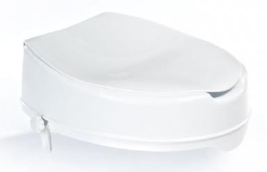 WC sedátko zvýšené 10cm, bez madel, bílá