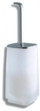 NOVASERVIS 6433/1,0 WC štětka na postavení Metalia 4 chrom