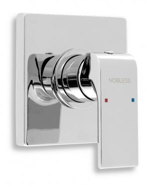 NOVASERVIS Nobless SHARP 37050,0 Sprchová baterie podomítková, chrom
