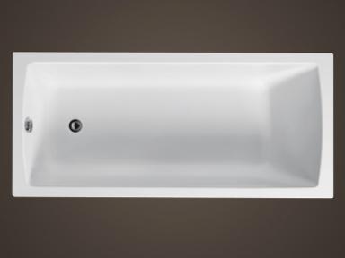 Santech nízká vana ONE 160, 160 x 72,5 cm
