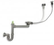 NOVASERVIS NSG1 Sifon s automatickou výpustí pro granitový dřez 01400-1