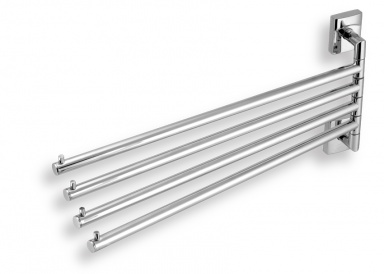 NOVASERVIS Čtyřramenný držák ručníků Metalia 12 chrom
