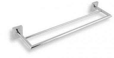 NOVASERVIS Dvojitý držák ručníků 500 mm Metalia 12 chrom
