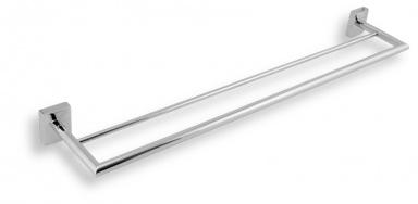 NOVASERVIS Dvojitý držák ručníků 650 mm Metalia 12 chrom