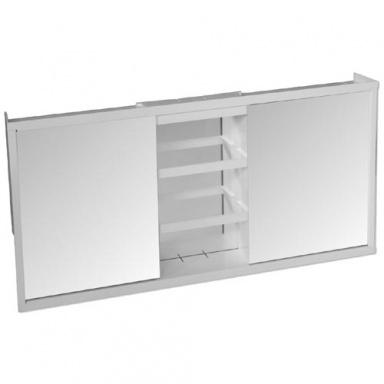 TZS-3 skříňka koupelnová 3díl. , 73x36,5x10cm, zrc.BÍ