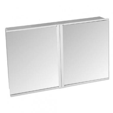 TZS-2 skříňka koupelnová 2díl. , 54,5x34,5x9cm, zrc.BÍ