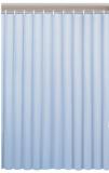 Závěs 180x180cm, vinyl, modrá