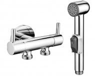 Bidetová sprcha s dvojventilem pro napojení vody na WC nádržku