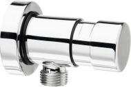 QUIK4 samouzavírací nástěnný sprchový ventil, 1 výstup, chrom