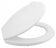 WC sedátko, polypropylen, bílá