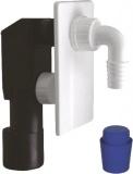 Podomítkový pračkový sifon 40/50mm, plast