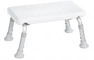 Ridder Stolička na nohy, výškově nastavitelná, bílá - A0102601