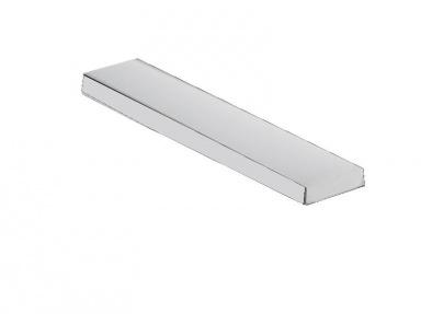 Mléčný kryt LED profilu KL1889, 1m