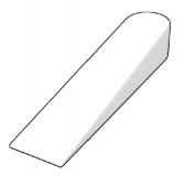 Plastové klínky 0-4mm, 100ks