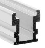 LED zápustný profil 26x26mm, IP67, hliník, 2m