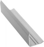 Ochranný profil, matný eloxovaný hliník, L200cm, 25mm