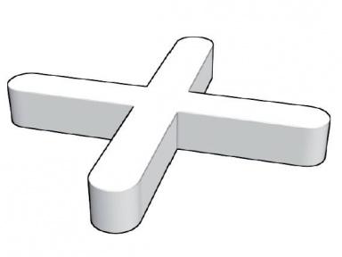 Plastové křížky do obkladů, 3mm, 150ks