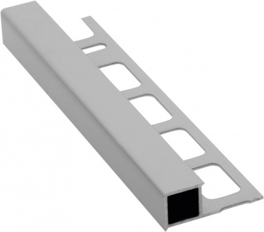 Lišta k obkladům H, matný eloxovaný hliník, L250cm, 12,5mm