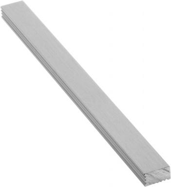 Lišta do obkladů, kartáčovaný eloxovaný hliník, L100cm, 9x5mm