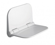 DINO sprchové sedátko, 37,5x29,5cm, sklopné, bílá