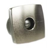 X-MART 10 koupelnový ventilátor axiální, 15W, potrubí 100mm, nerez