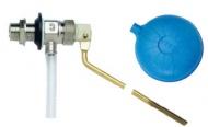 Plovákový ventil mosazný pro WC nádržky - ITALY 1/2