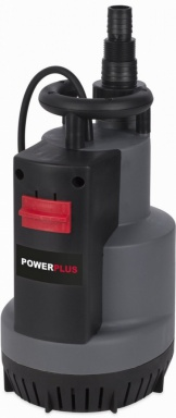 Ponorné čerpadlo POWERPLUS 750W s integrovaným plovákem
