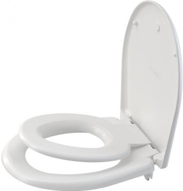 Alcaplast WC sedátko univerzální Softclose s vložkou, Duroplast, bílá A606