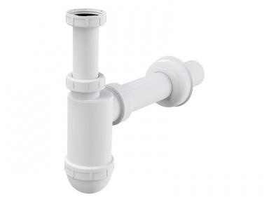 """Alcaplast sifon umyvadlový o 40 mm s převlečnou maticí 5/4"""", bílý"""