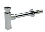 SAGITTARIUS 04000/LONG sifon umyvadlový DN 32, bez odtokového ventilu, dlouhý - kovový