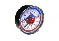"Termomanometr G1/4"" 0-6Bar, 0-120°C zadní 80mm"
