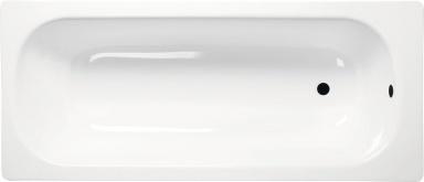 Aqualine smaltovaná vana 160 x 70 cm V160x70