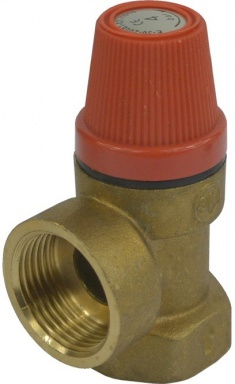 """MEREO Pojišťovací ventil pro bojler s pevně nastaveným tlakem 4 bar, 1"""" (PR2416B)"""