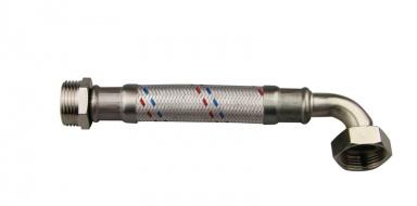 """Hadice antivibrační MF 1"""" s kolenem 80 cm"""
