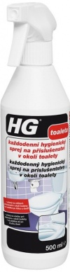 HG každodenní hygienický sprej na příslušenství v okolí WC 0,5 l