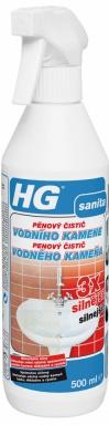 HG pěnový čistič vodního kamene 3x silnější 500 ml