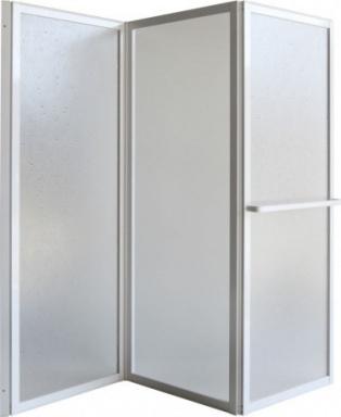 Olsen Spa KARINA Vanová zástěna 1390x1350 mm OLBVZ3