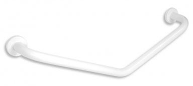 NOVASERVISÚhlové držadlo s krytkami 400x400mm bílé