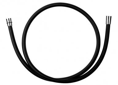 NOVASERVISSprchová hadice plastová, 150 cm černá